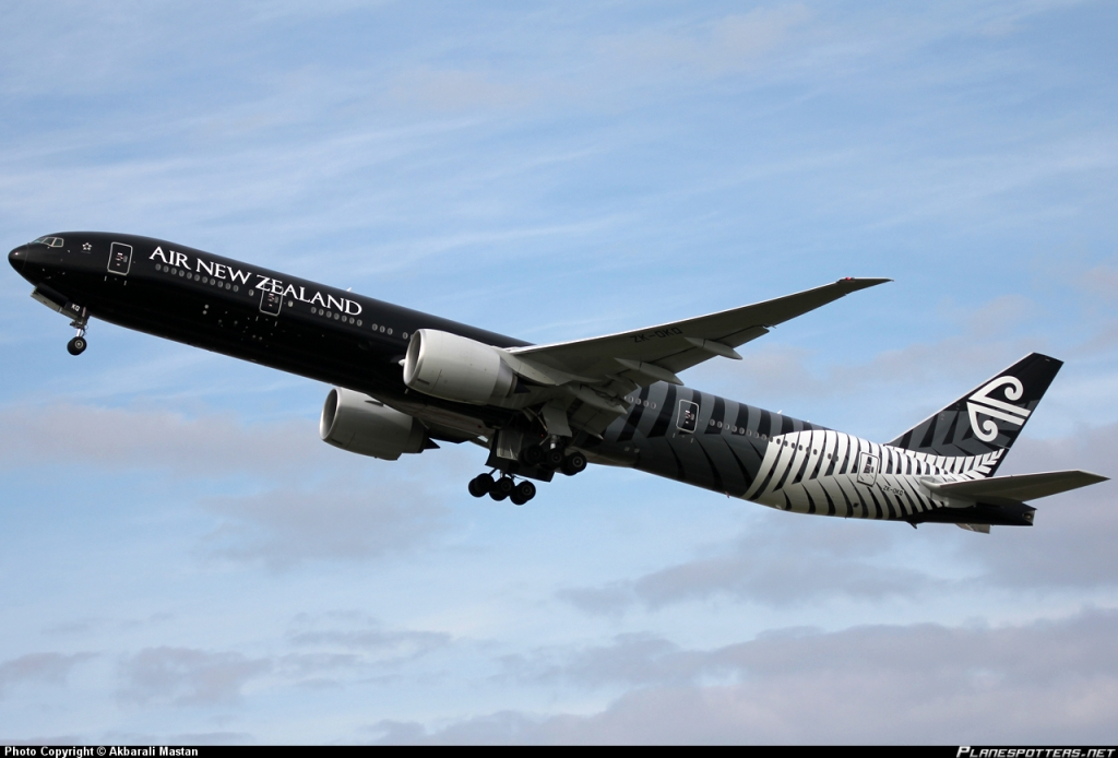 ニュージーランド航空(NZ)のソファベッドのようなシート 'Skycouch'