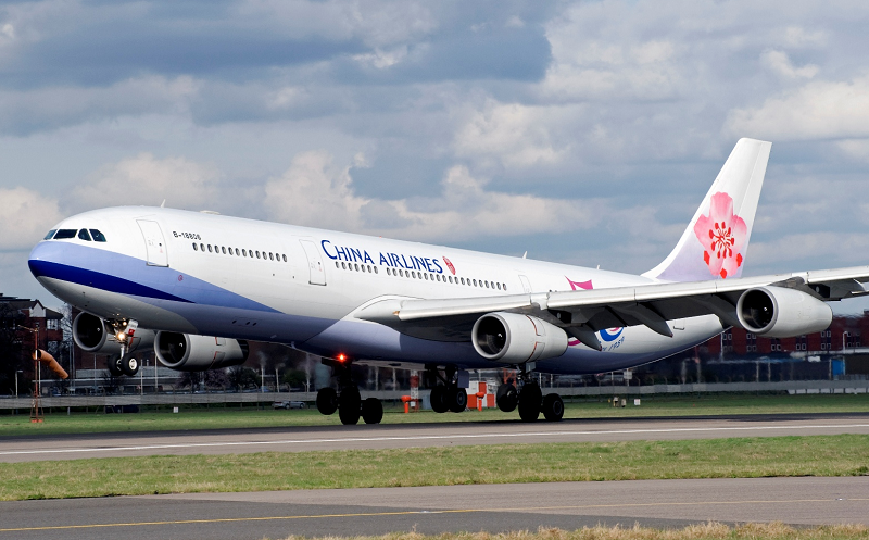 Fifth Freedom Flights : China Airlines(CI)