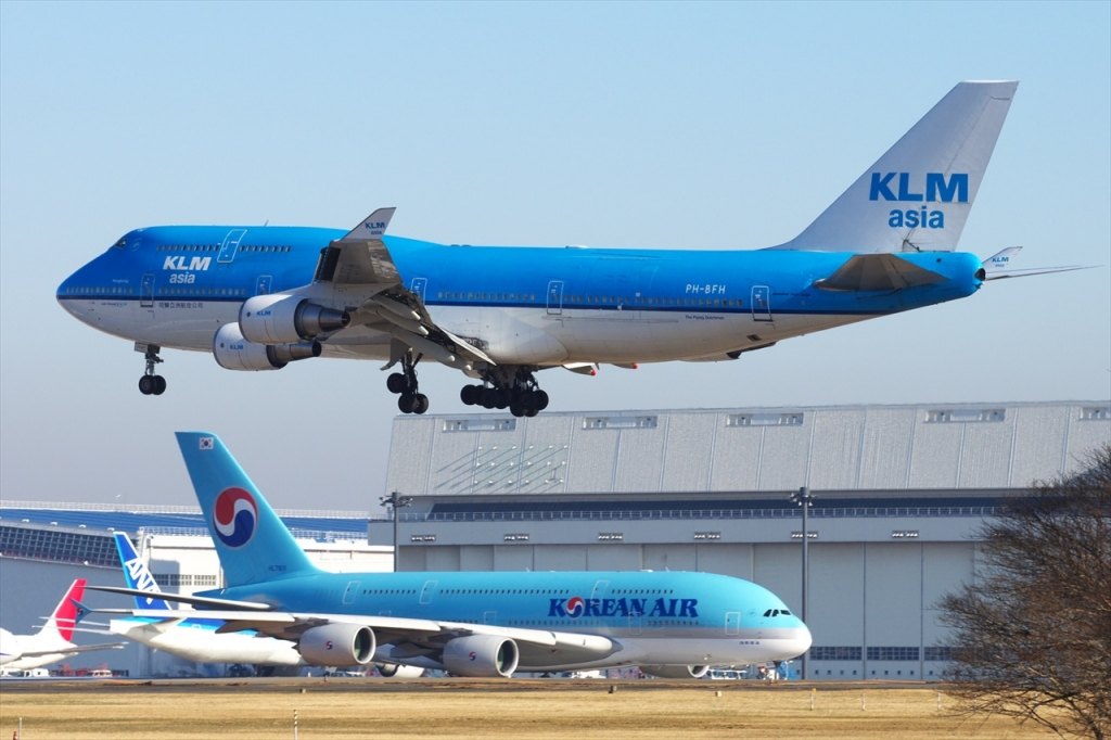 Fifth Freedom Flights : Korean Air(KE)