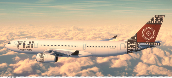 Fifth Freedom Flights : Fiji Airways(FJ)