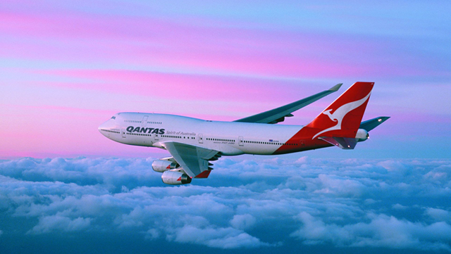 Fifth Freedom Flights : Qantas(QF)