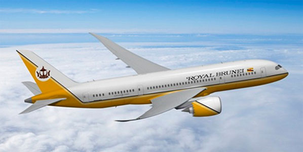 Fifth Freedom Flights : Royal Brunei Airlines(BI)