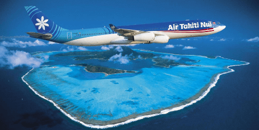 Fifth Freedom Flights : Air Tahiti Nui(TN)