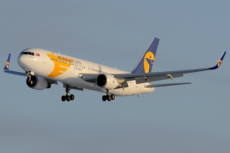 Fifth Freedom Flights : MIAT Mongolian Airlines