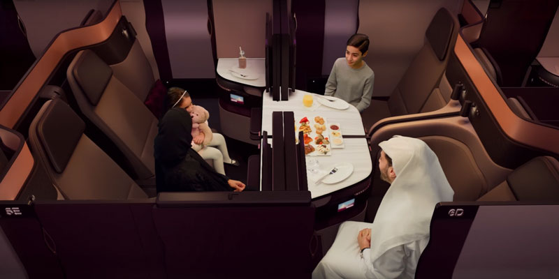 カタール航空(QR)のビジネスクラス「QSuite」が就航している路線まとめ(2019年、東京(羽田(HND)と成田(NRT))にもやって来た!)