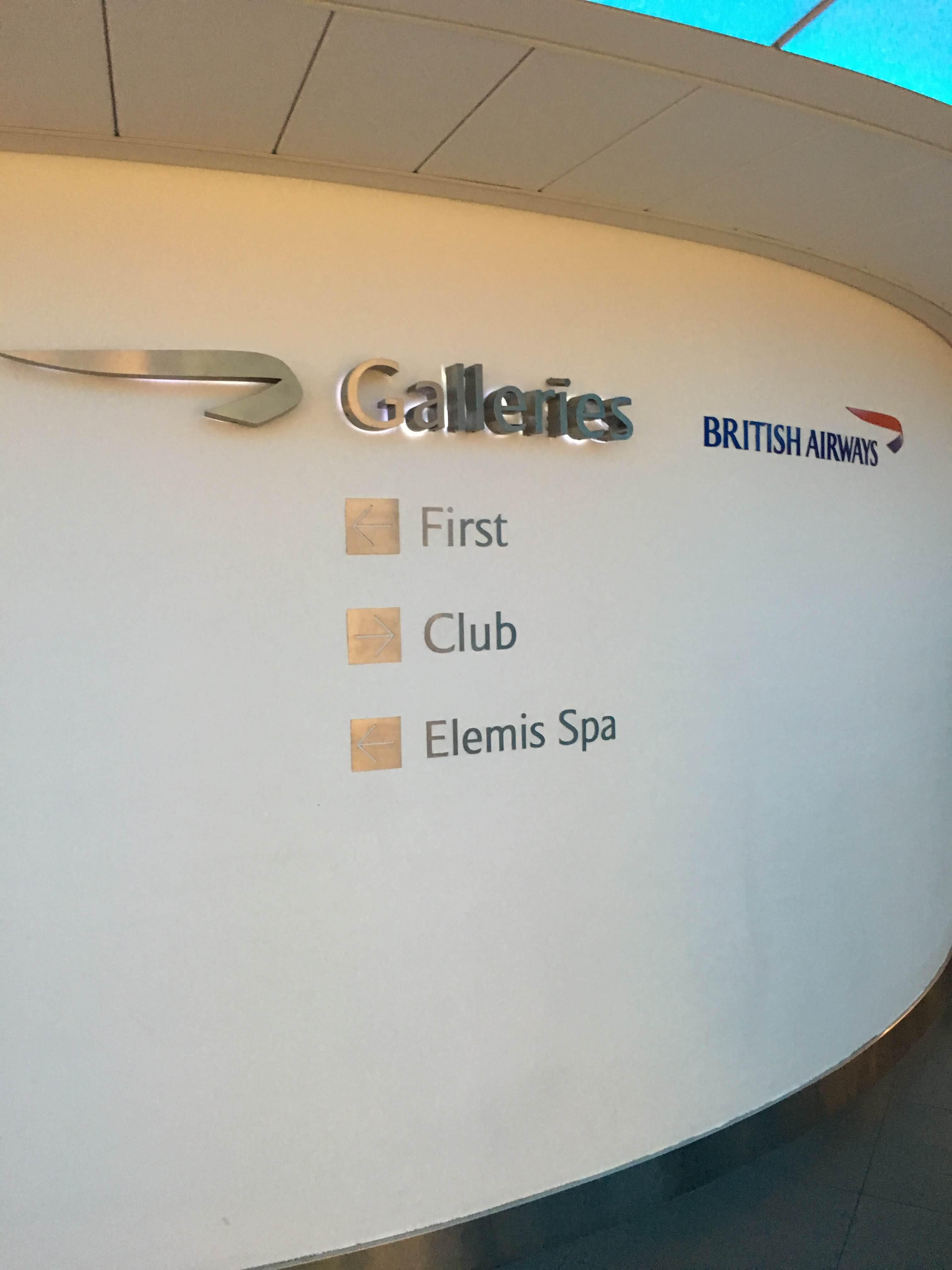 Lounge Review : ヒースロー空港(LHR) ターミナル3 ブリティッシュ・エアウェイズ(BA) Galleries Club Lounge