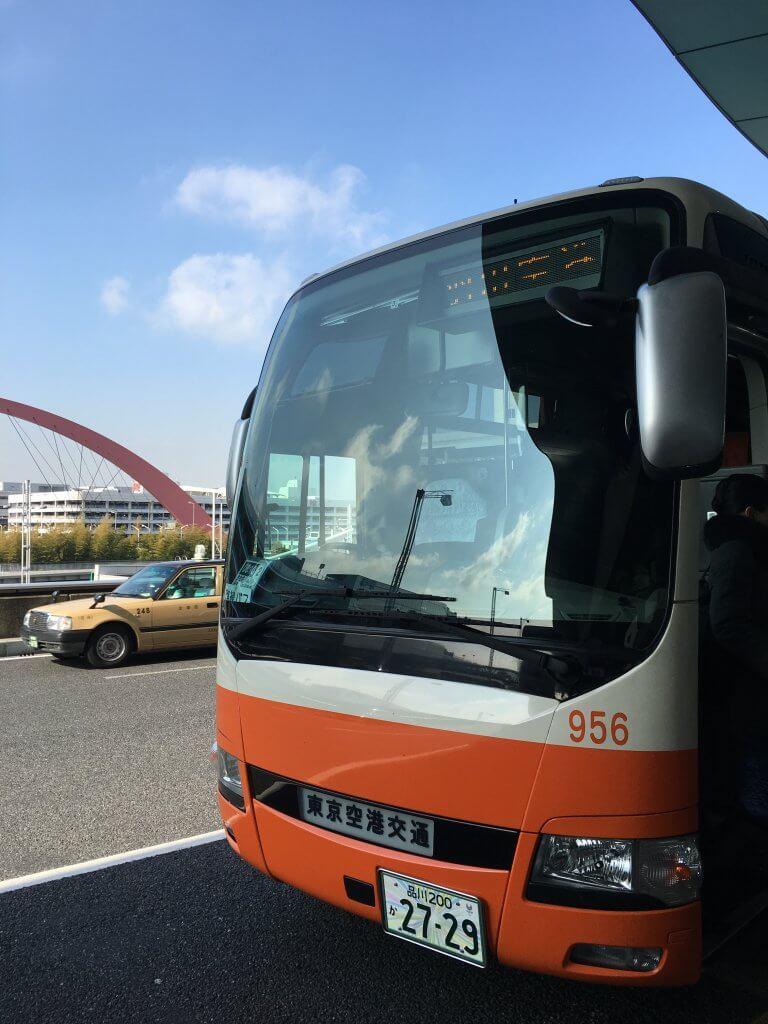 リムジンバスのWifiスピードチェック