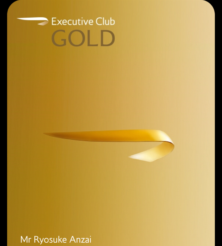 BA Lifetime Gold Membership Clubのご案内