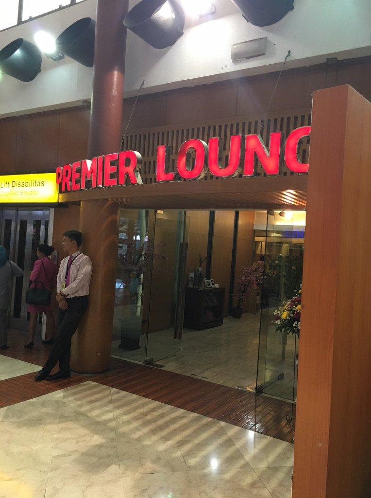 ジャカルタ空港(CGK) PREMIER LOUNGEのWifiスピードチェック