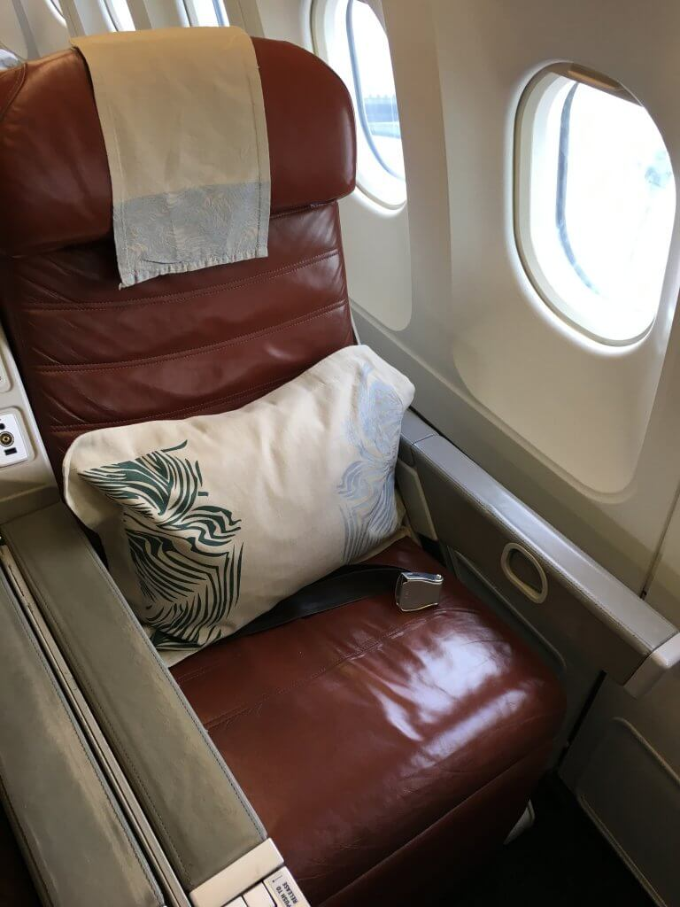 Business Class Review : UL365(CGK – CMB)
