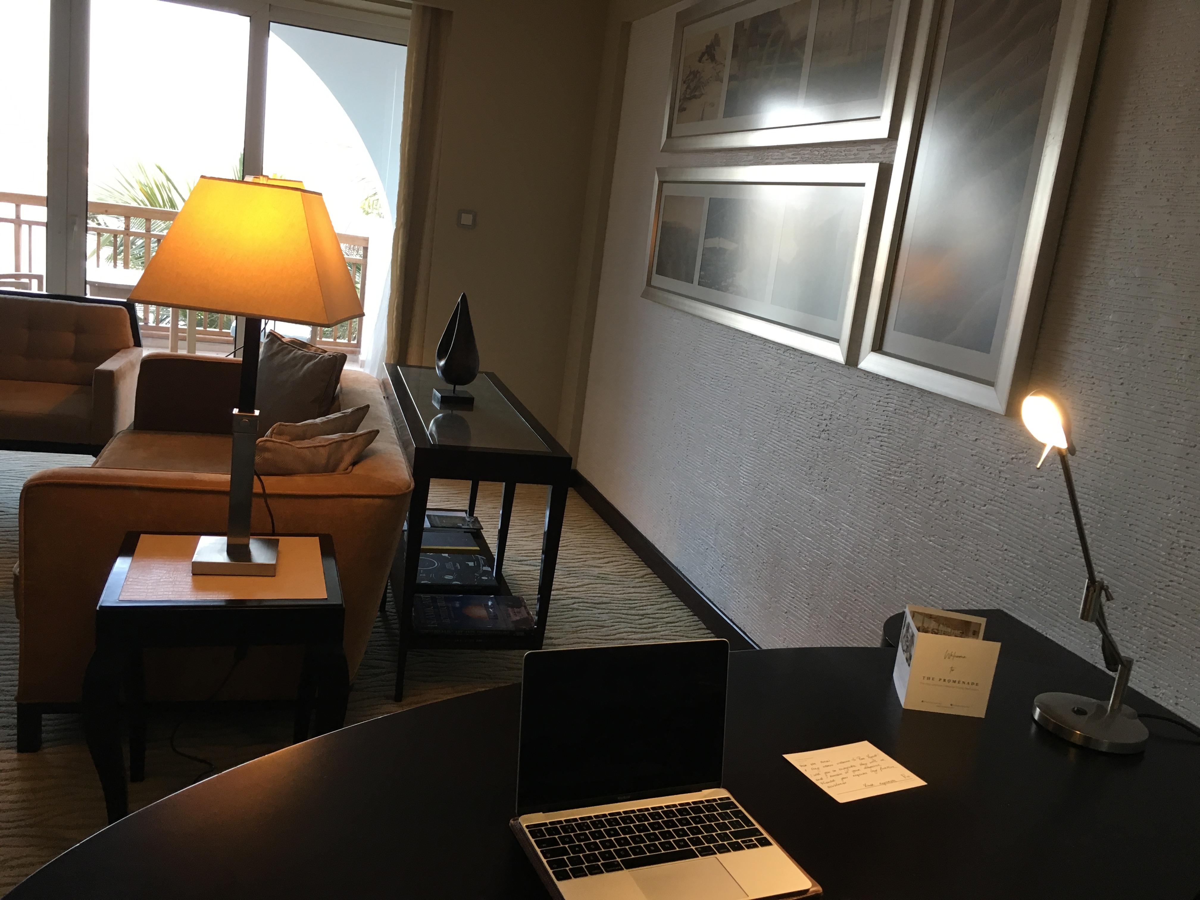 ハイアット ライフタイムグローバリストへの道#9(パークハイアットドバイ エグゼクティブスイート(Park Hyatt Dubai Executive Suite Room))