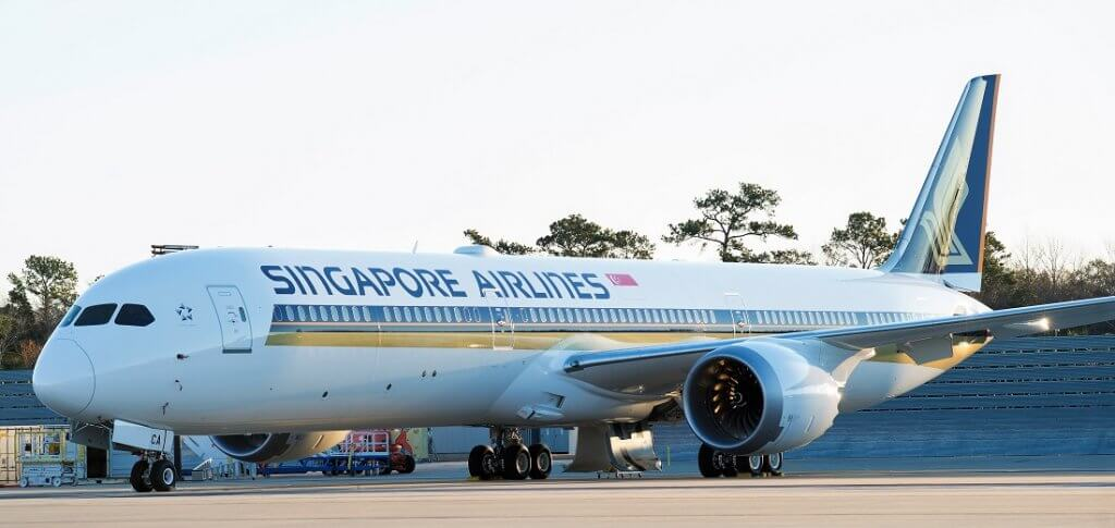 シンガポール航空(SQ)のボーイング787-10就航路線まとめ(2019年6月版)