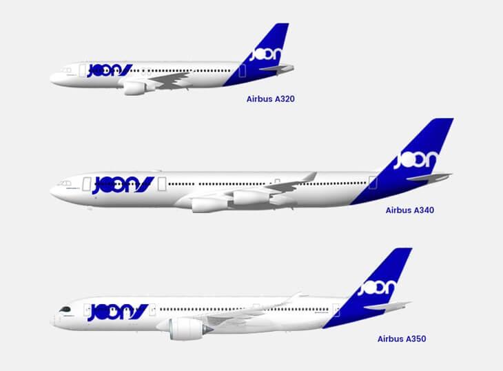 デルタ航空(DL)のマイレージでJoon(JN)のフライトが予約できます