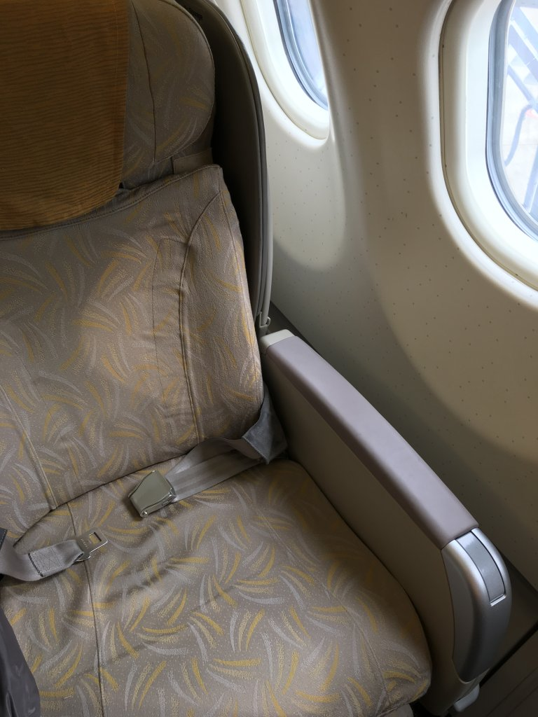 Business Class Review : OZ102(ICN – NRT)
