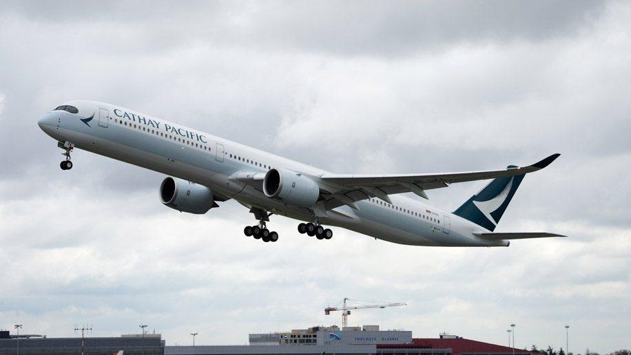 キャセイパシフィック航空(CX)のエアバス A350-1000 就航路線まとめ(2020年1月版)