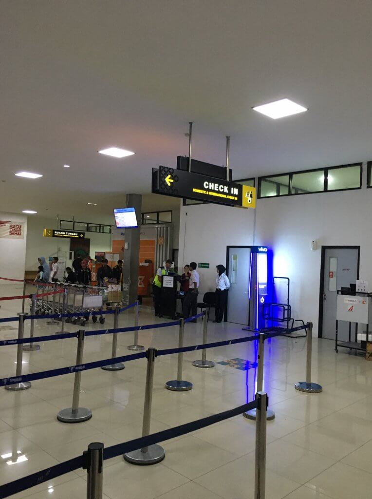 ジョグジャカルタ空港(JOG)のWifiスピードチェック