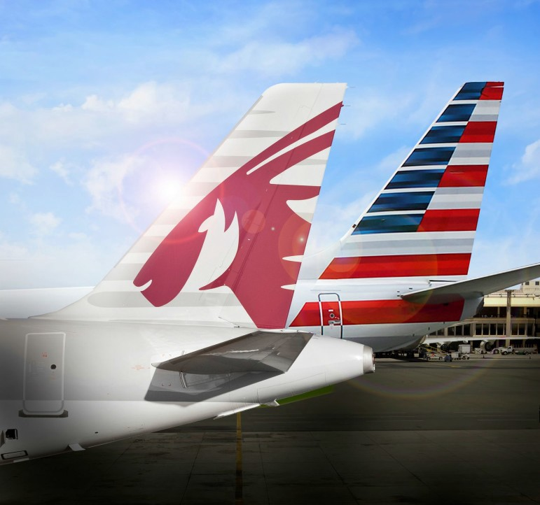 JAL(JL)の盟友・アメリカン航空(AA)のマイレージで、カタール航空(QR)などのフライトのオンライン予約が可能に!