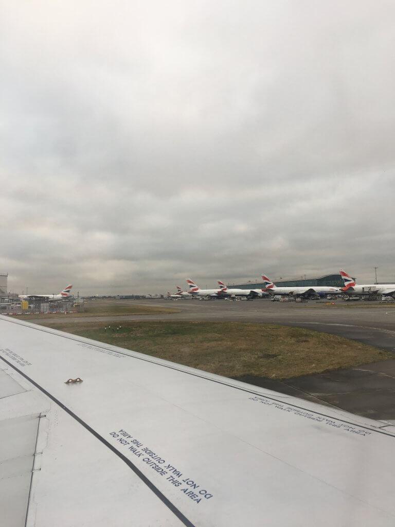 ブリティッシュ・エアウェイズ(BA)特典航空券距離別必要Avios数まとめ(BAフライト)