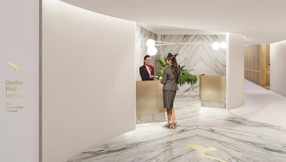 カンタス航空(QF)のファーストラウンジがシンガポール空港(SIN)に2019年オープン