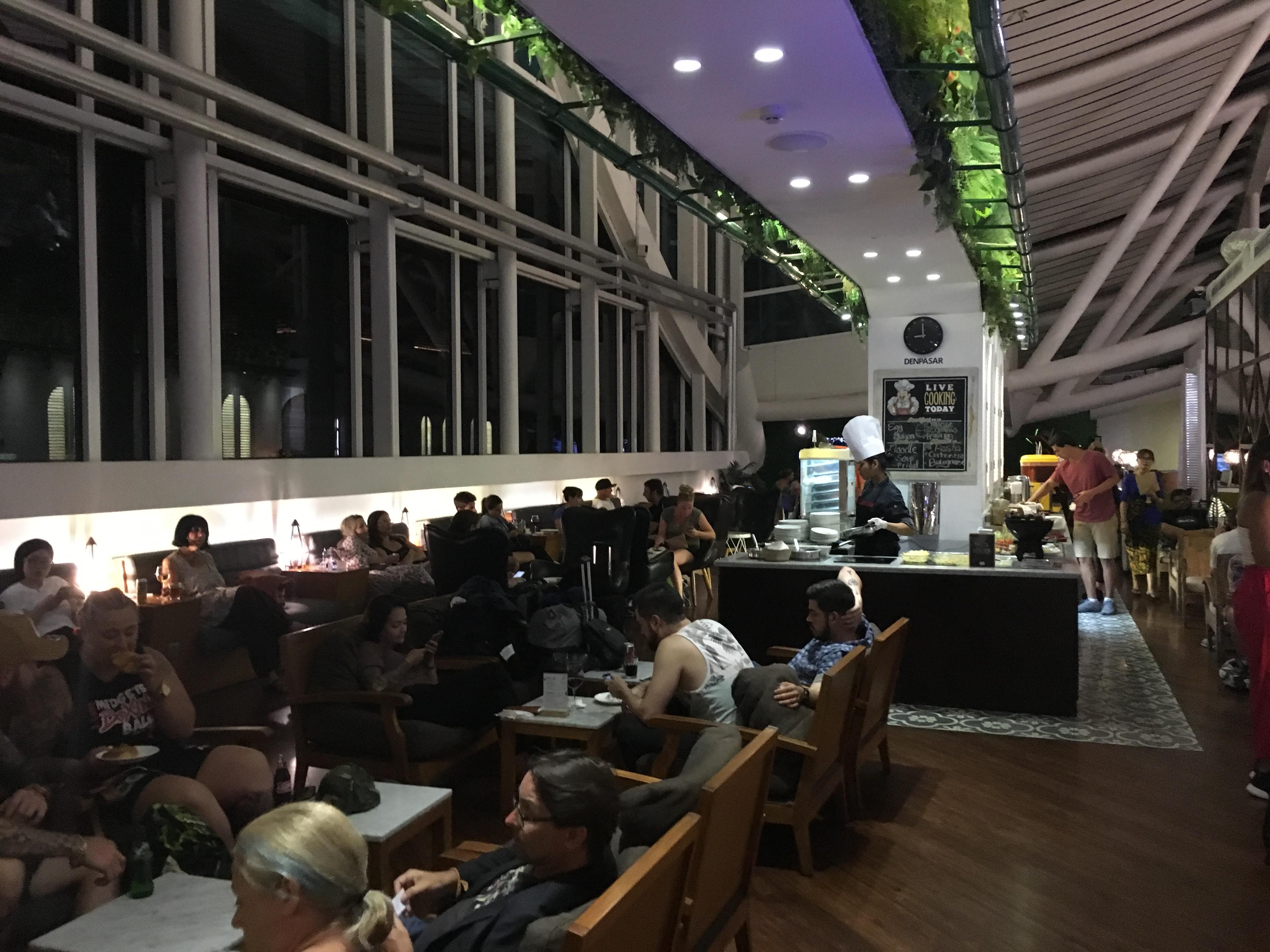 Lounge Review : バリ空港(DPS) T/Gラウンジ