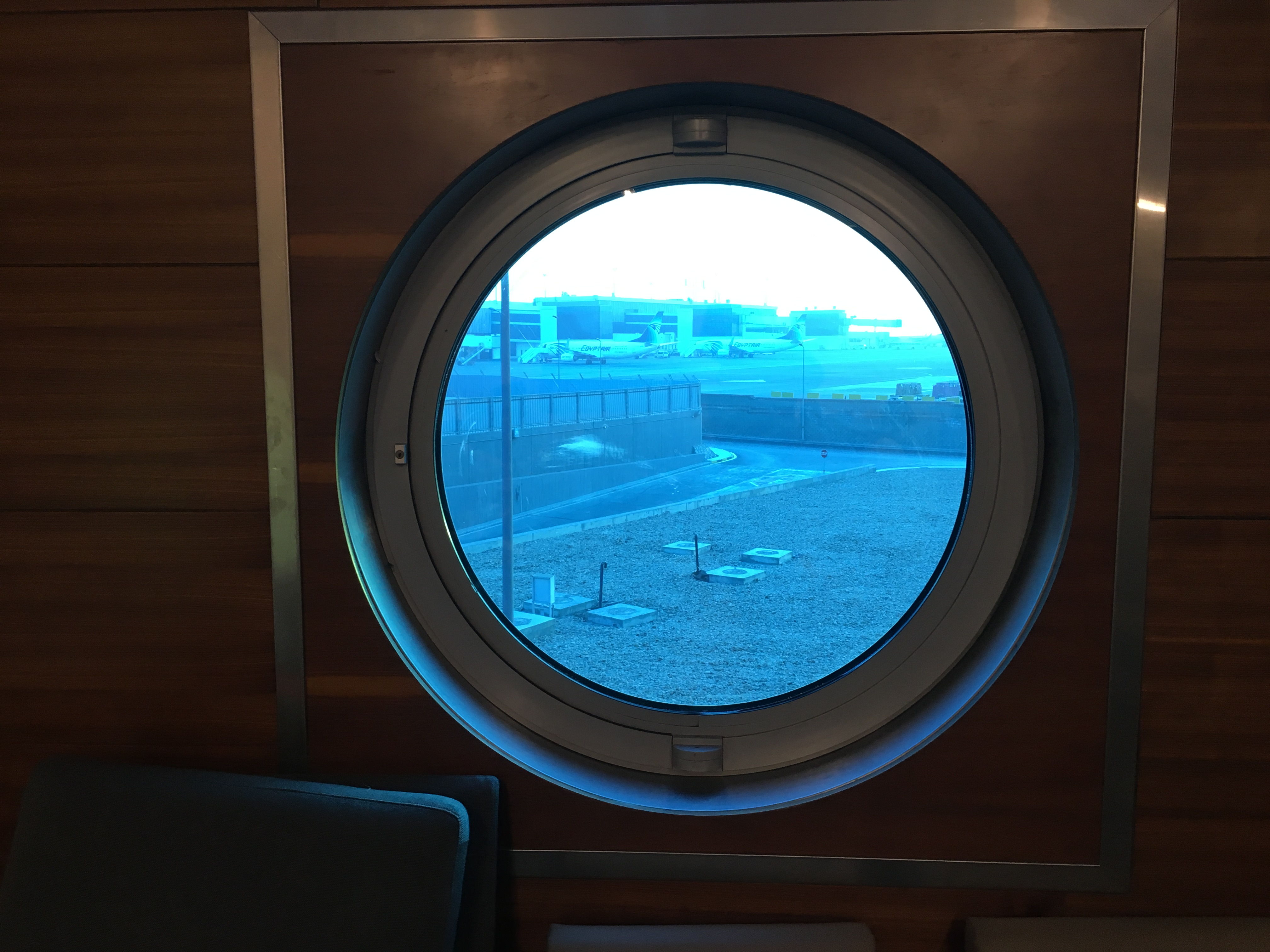 Lounge Review : カイロ空港(CAI) エジプト航空(MS) ALMEISANラウンジ