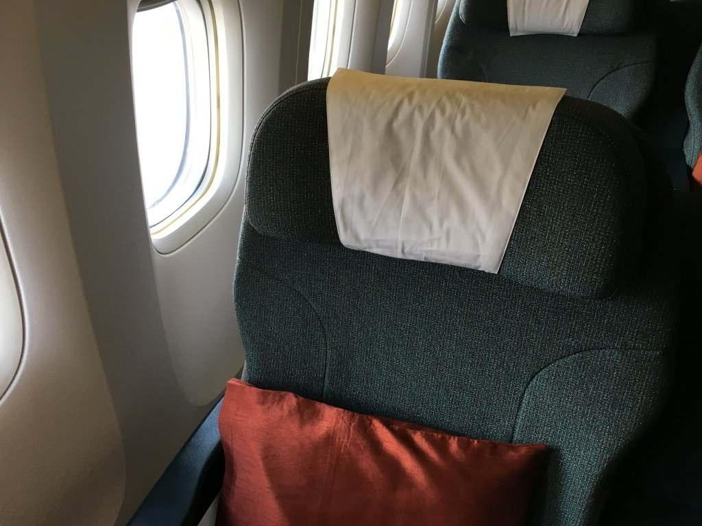 Business Class Review : CX784(DPS – HKG)