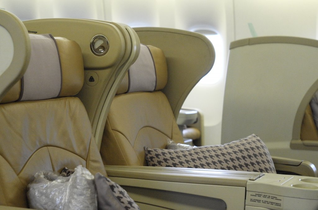 Business Class Review : SQ961(CGK – SIN)