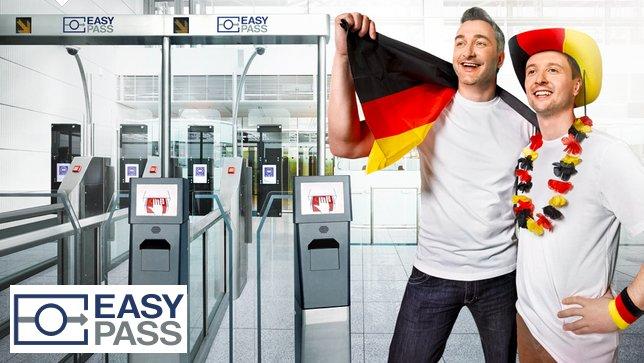 ドイツの空港で日本人も自動化ゲート「EasyPASS 」を利用可能に!