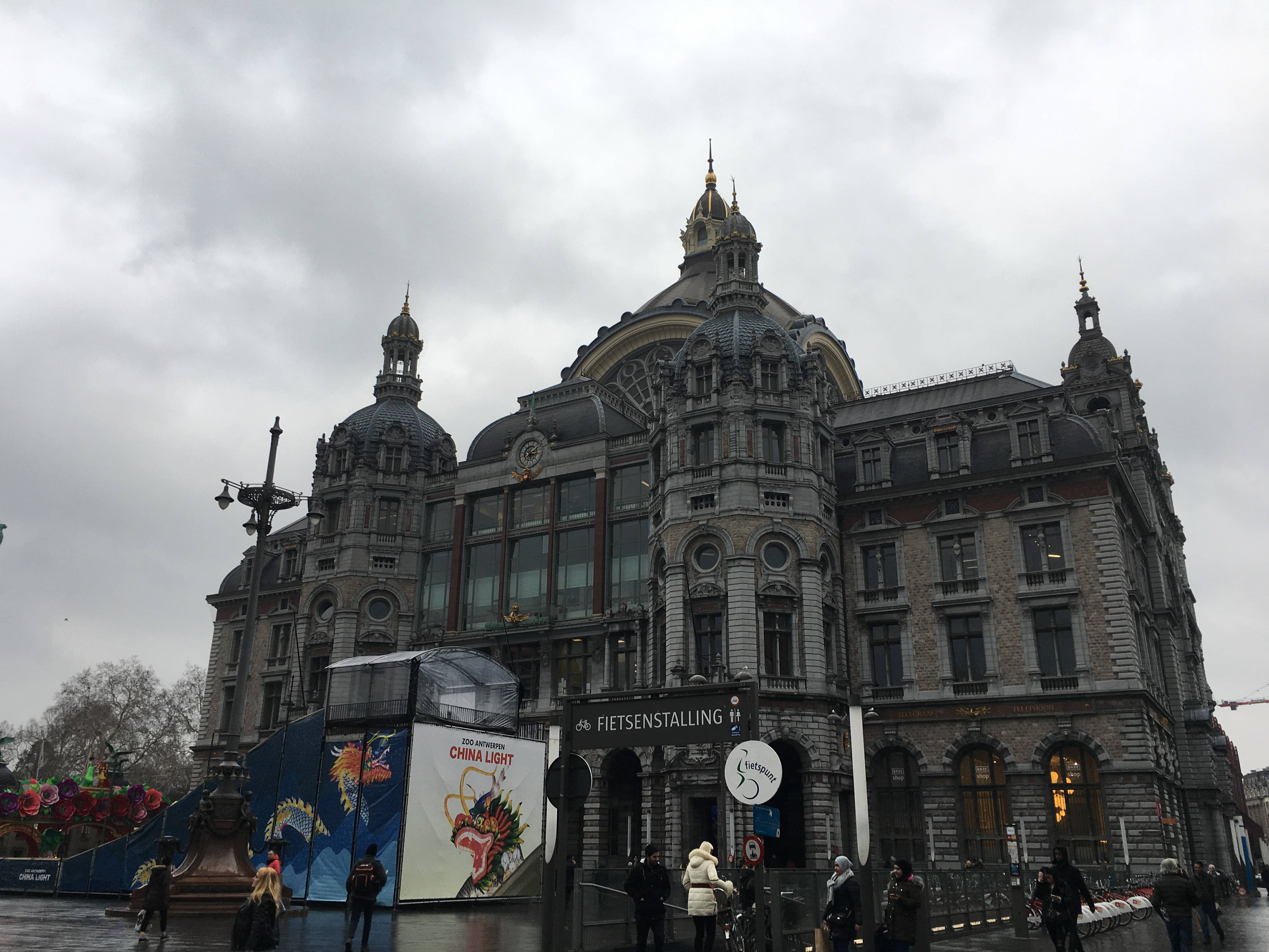 An Antwerp Travelogue : Walking around the city centre(2019年1月)