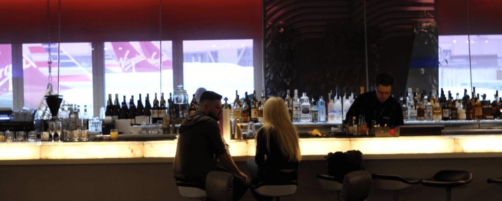 Lounge Review : ロンドンヒースロー空港(LHR) ヴァージン・アトランティック航空(VS) Clubhouse