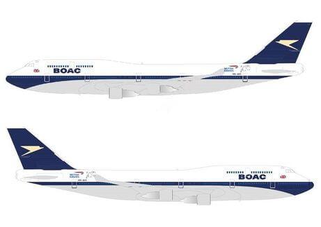 ブリティッシュ・エアウェイズ(BA)のBOAC機材に乗りたい!