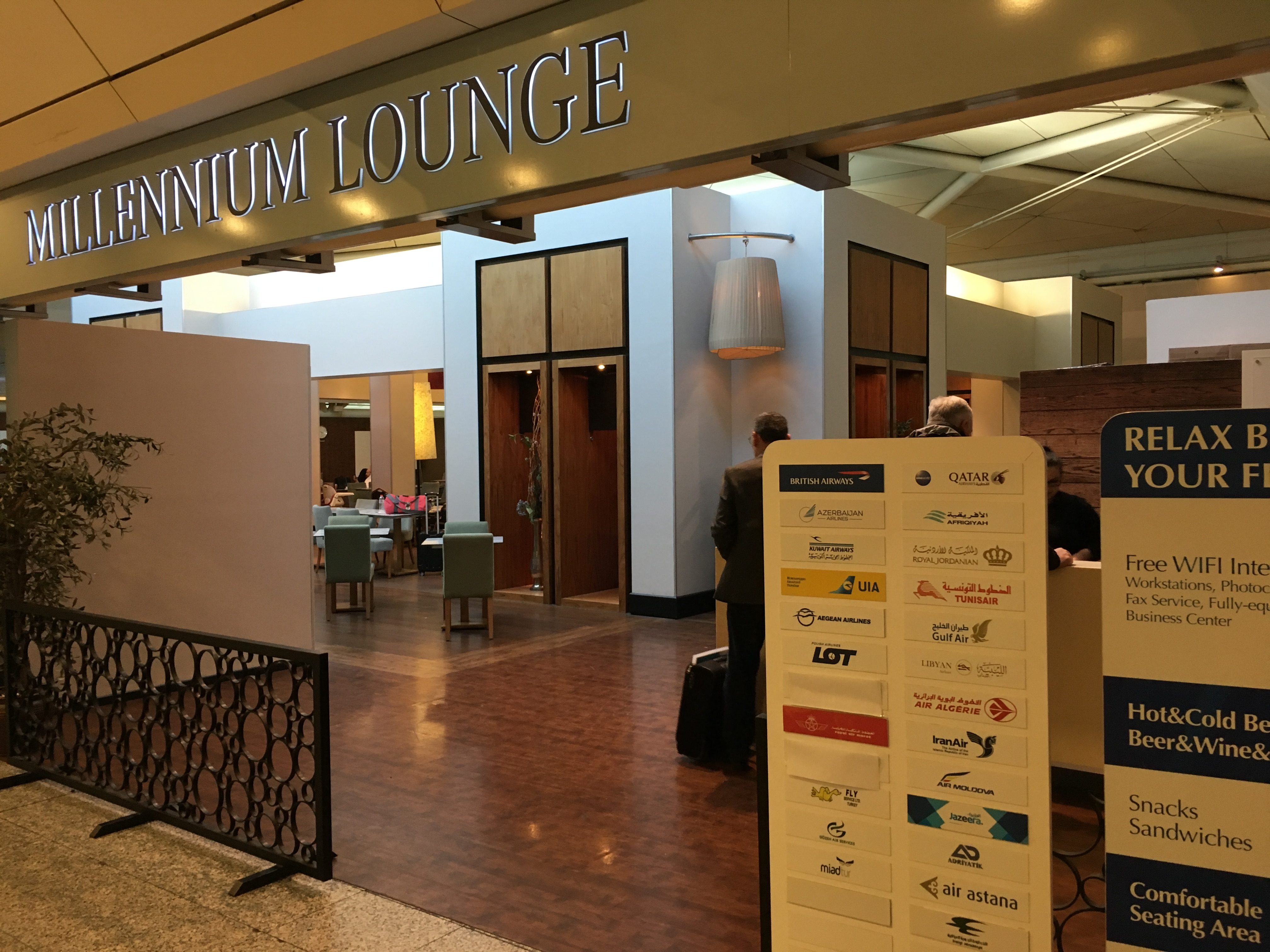 Lounge Review : イスタンブール空港(IST) Millennium Lounge
