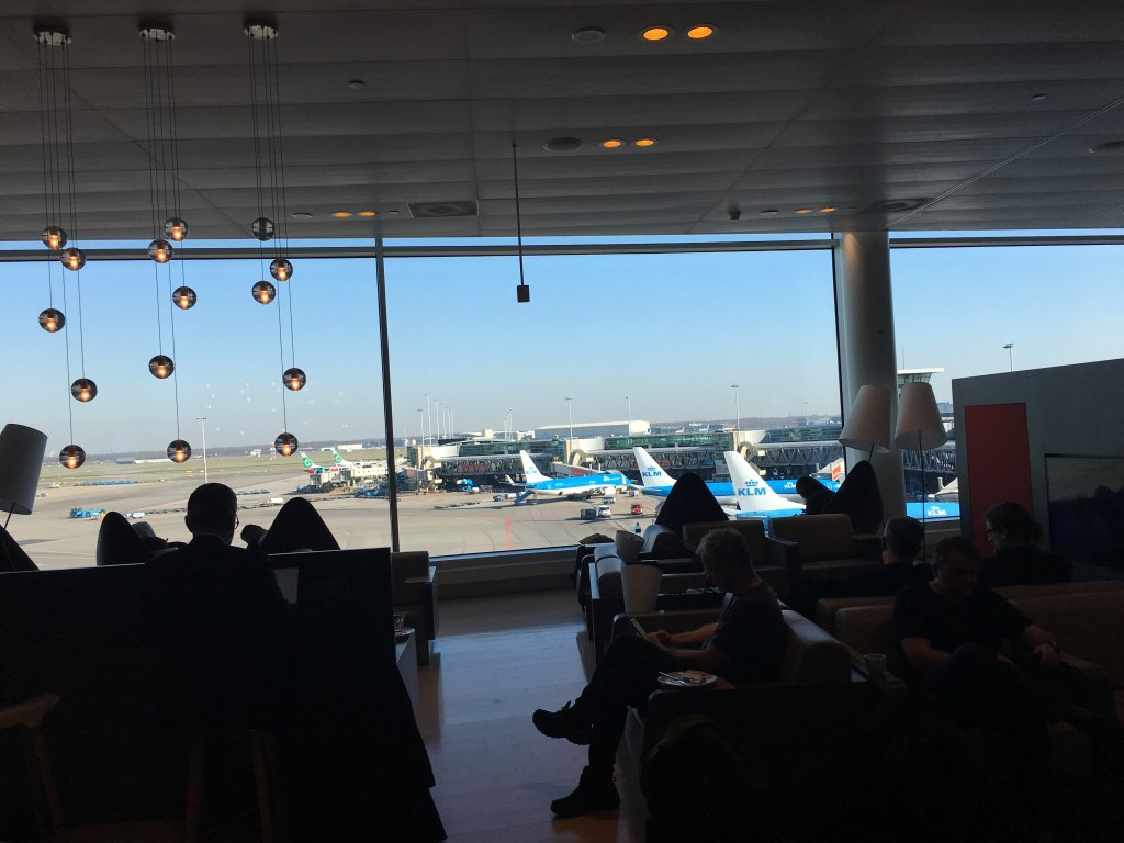 Lounge Review : アムステルダム空港(AMS) Aspire Lounge