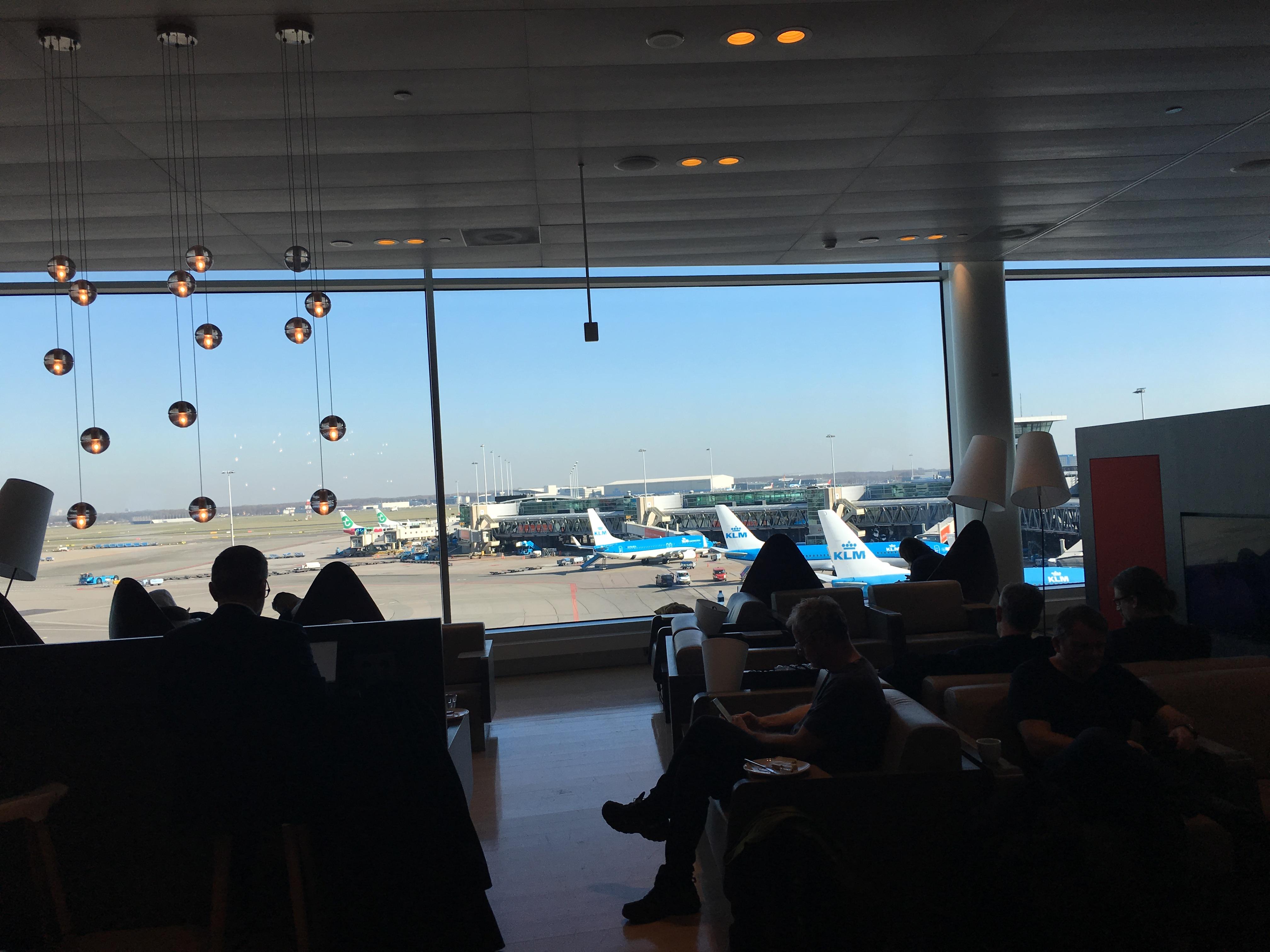 Lounge Review : アムステルダム空港(AMS) Aspire Lounge