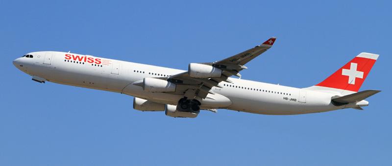 スイスインターナショナルエアラインズ(LX)の機材・エアバス A340が改善、日本路線も対象!