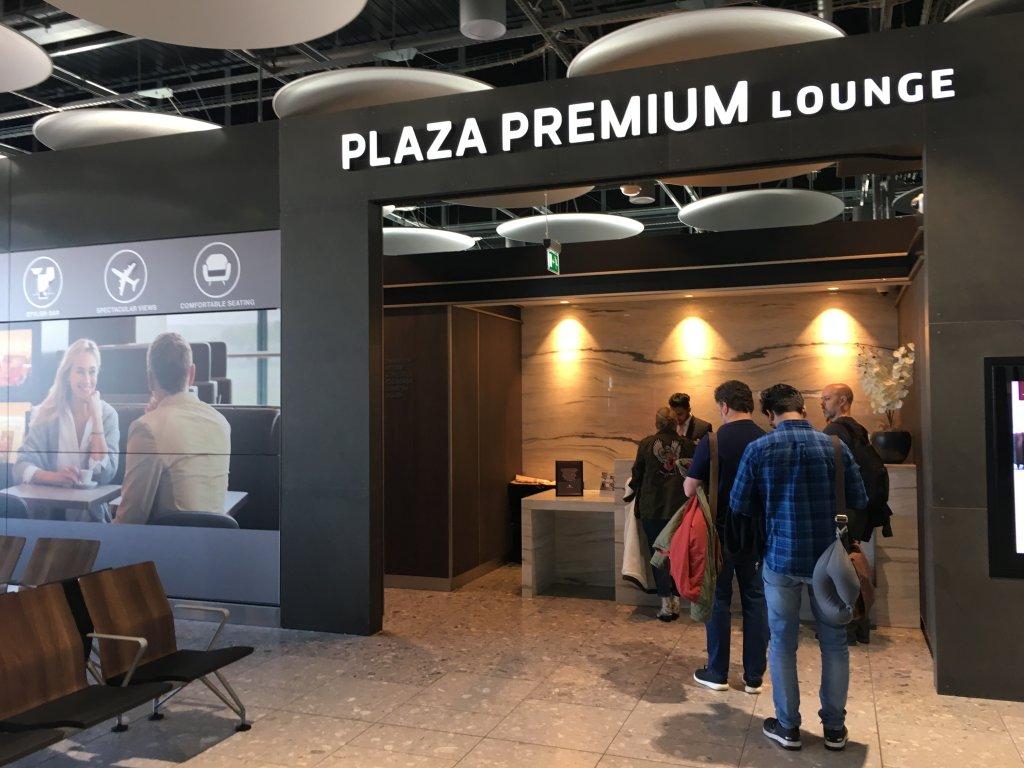 Lounge Review : ロンドンヒースロー空港(LHR) ターミナル5 プラザプレミアムラウンジ (Plaza Premium Lounge)