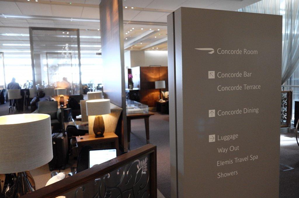 Lounge Review : ロンドンヒースロー空港(LHR) ターミナル5 ブリティッシュ・エアウェイズ(BA) コンコルドルーム (British Airways(BA) The Concorde Room)