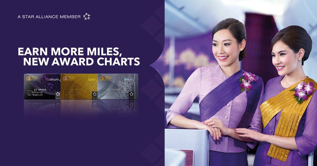 タイ国際航空(TG)のマイレージが改悪(2019/10/1から)