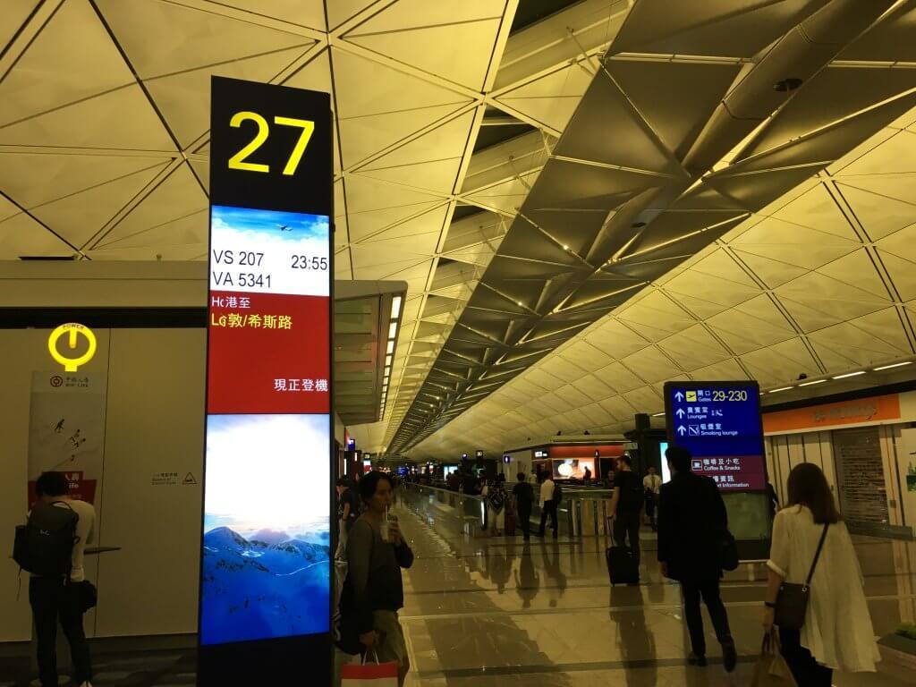 VSライフタイム・ゴールドメンバーシップへの道#4(香港(HKG) – ロンドンヒースロー(LHR))