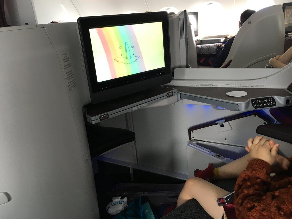 家族旅行にビジネスクラスは必要か?