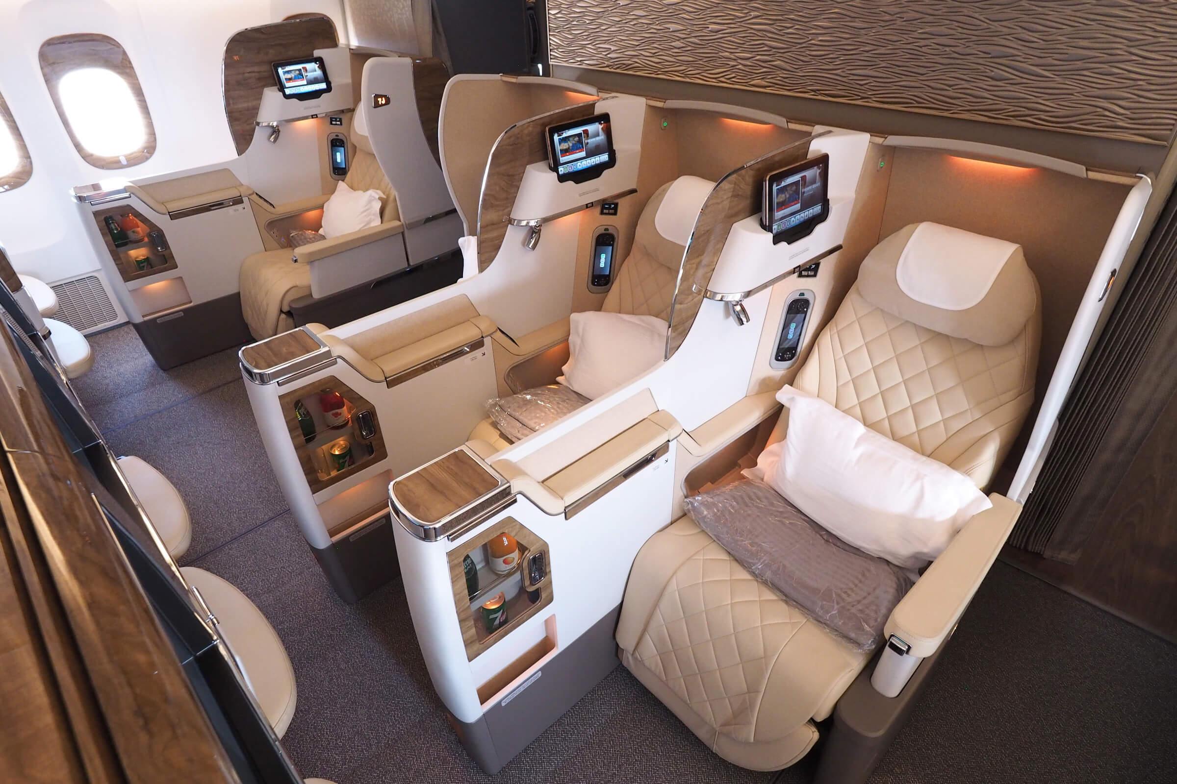 エミレーツ航空(EK)ビジネスクラスの新しい「アラカルト」運賃
