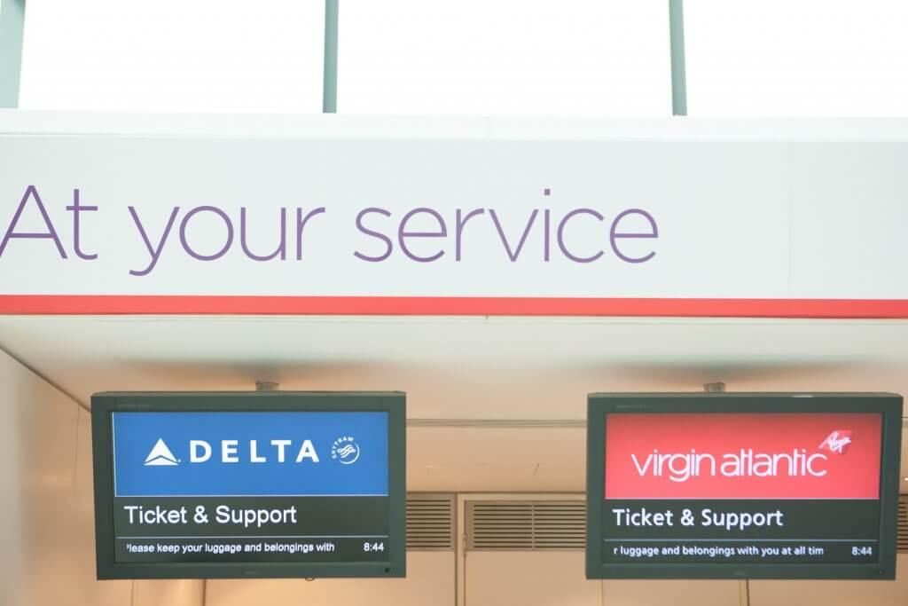 デルタ航空(DL)シルバーメダリオンのヴァージン・アトランティック航空(VS)搭乗時特典