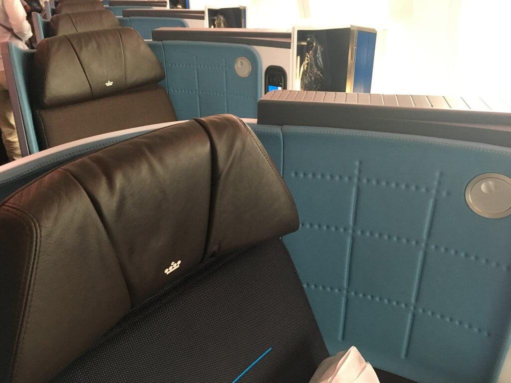 Business Class Review : KLMオランダ航空(KL) KL864  成田(NRT) – アムステルダム(AMS)