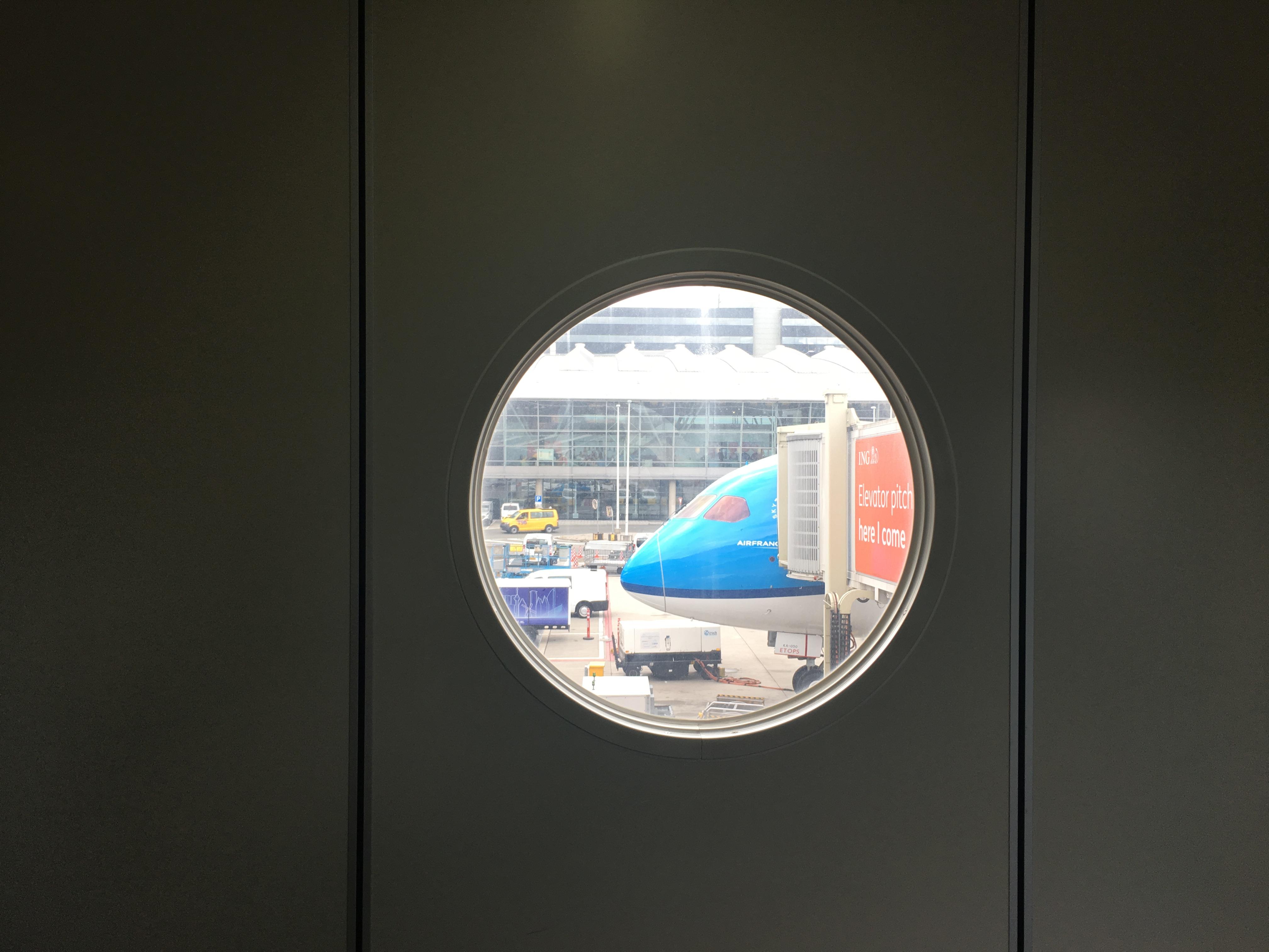 バースデーフライト2019(アムステルダム(AMS) – ドバイ(DXB) KLMオランダ航空(KL) KL427)