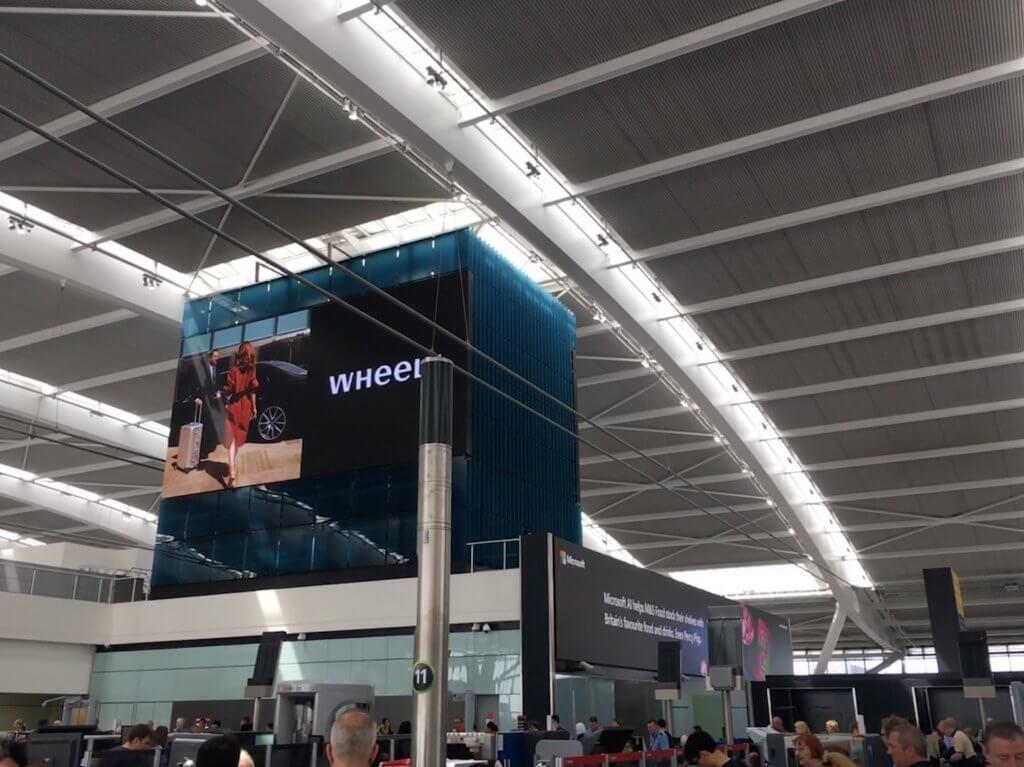 ロンドンヒースロー空港(LHR)の手荷物検査で、ノートPCなどを取り出さなくてよくなります