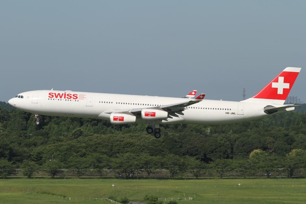 スイスインターナショナルエアラインズ(LX)が関西空港(KIX)に就航!氣になる機材は・・・。