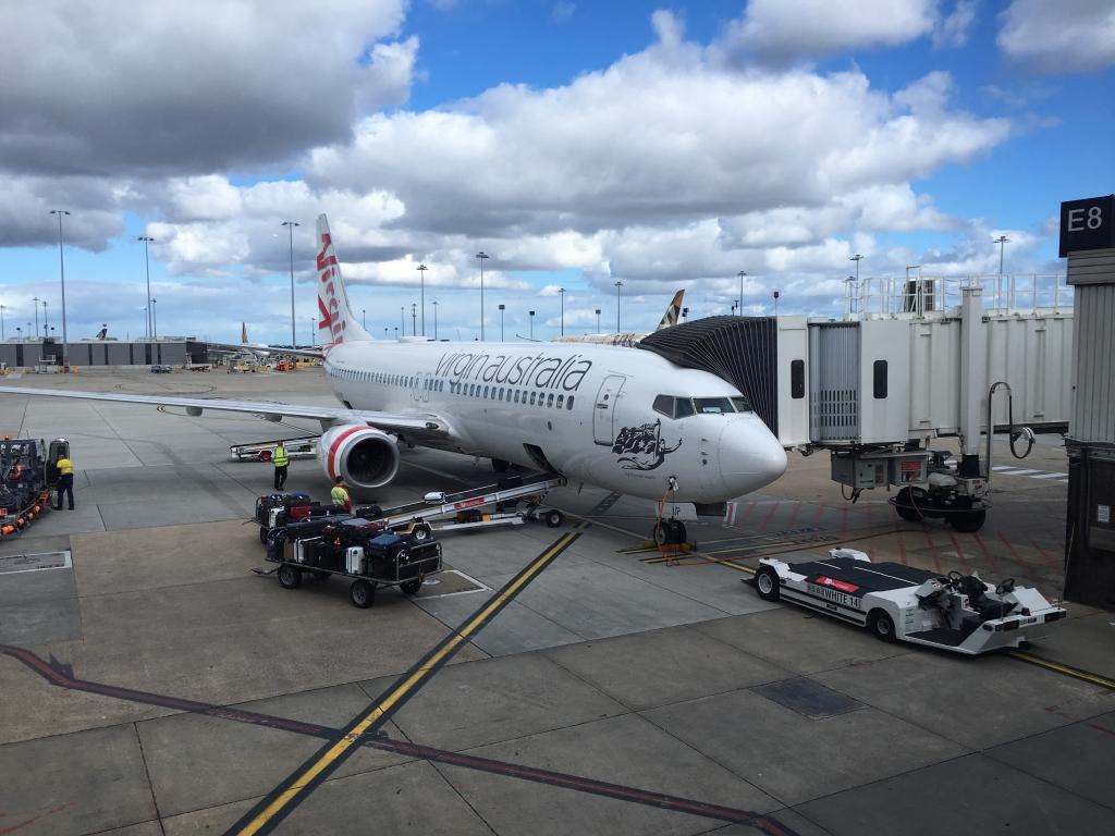 Business Class Review :  ヴァージン・オーストラリア(VA) VA845 メルボルン(MEL) – シドニー(SYD)