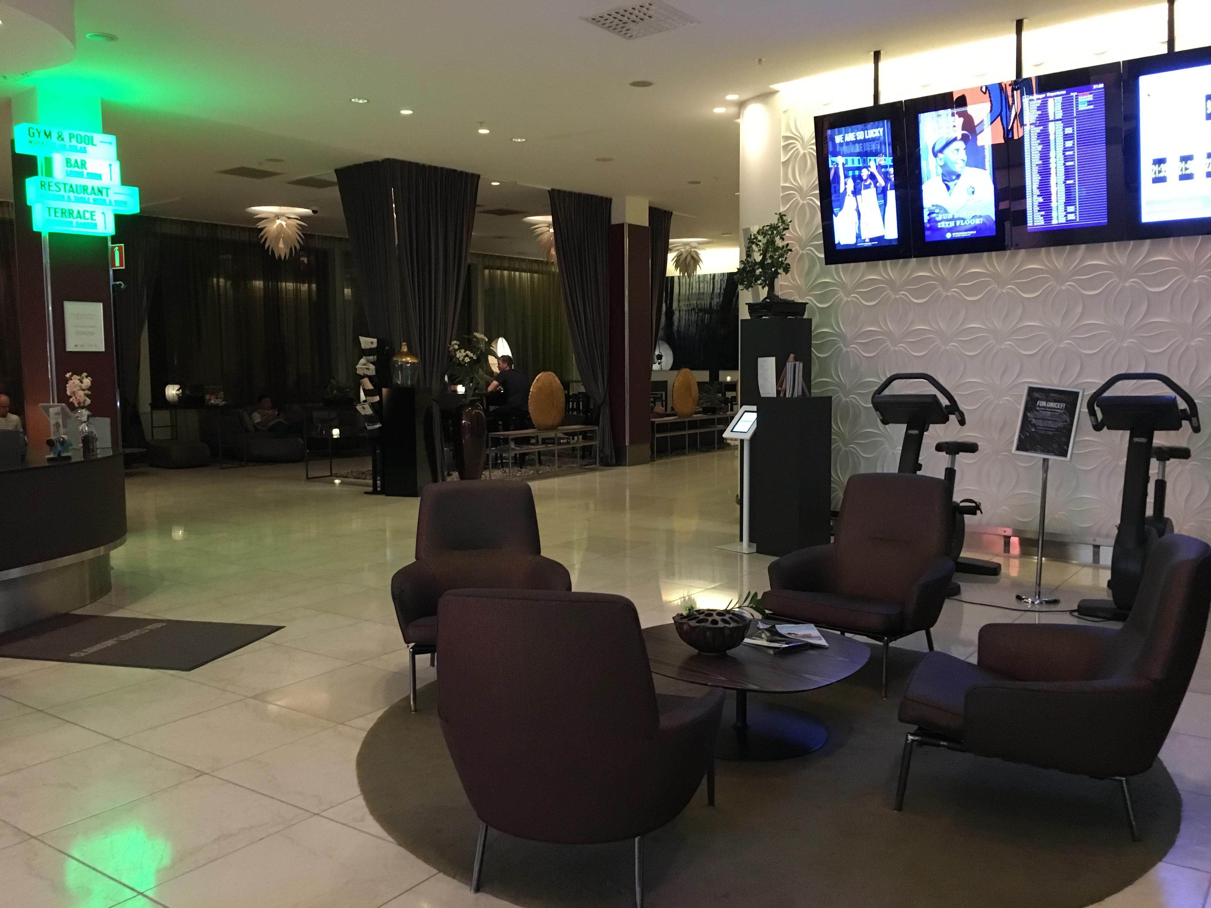 Hotel Review : クラリオンホテル アーランダエアポート(Clarion Hotel Arlanda Airport)