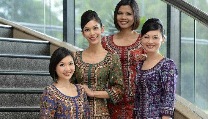 シンガポール航空(SQ)のユニフォーム「サロンケバヤ」の秘密