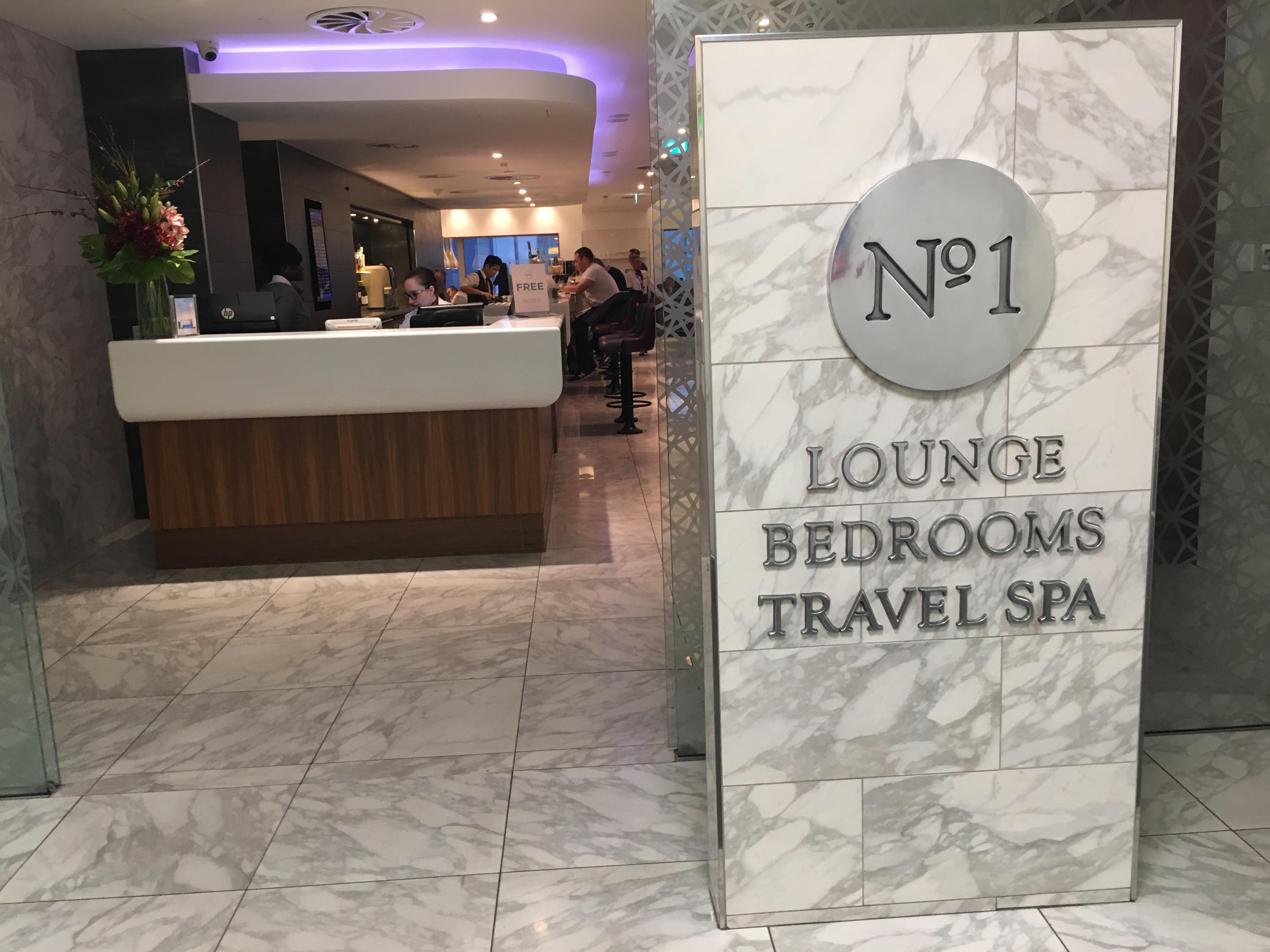 Lounge Review : ロンドンヒースロー空港(LHR)ターミナル3 No.1ラウンジ
